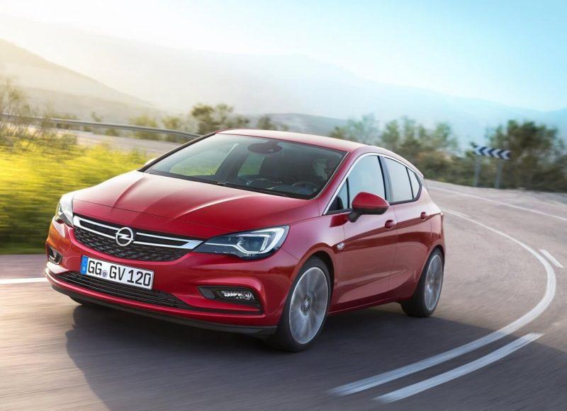Фото Opel Astra K