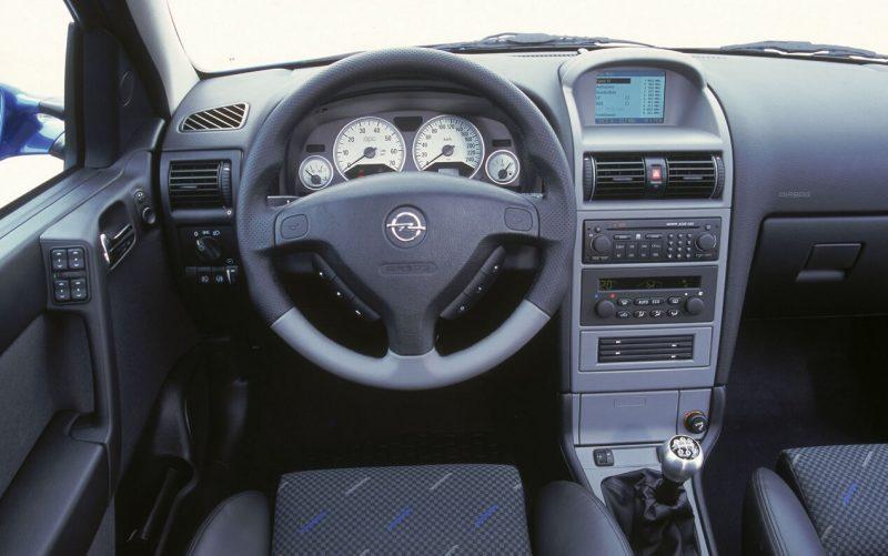 Салон Opel Astra (G)