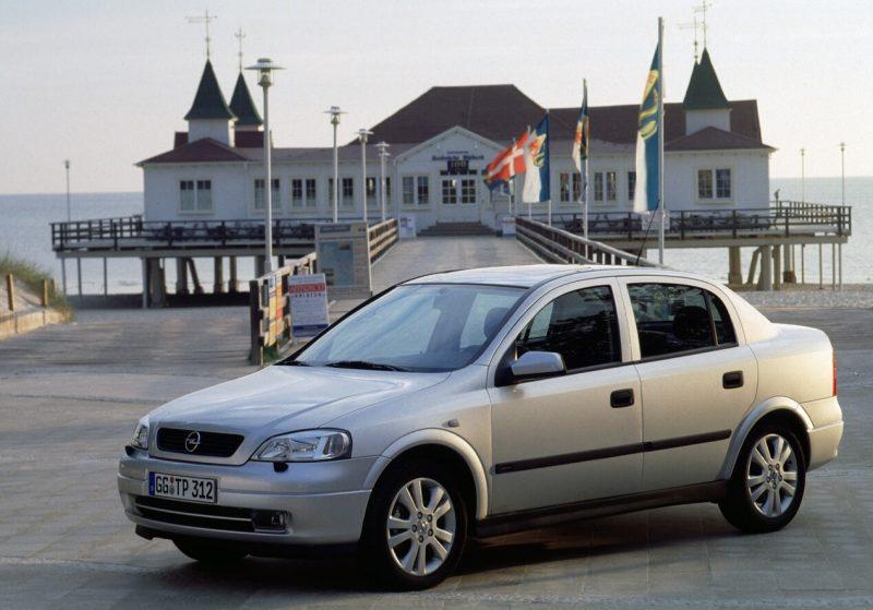 Авто Opel Astra Sedan