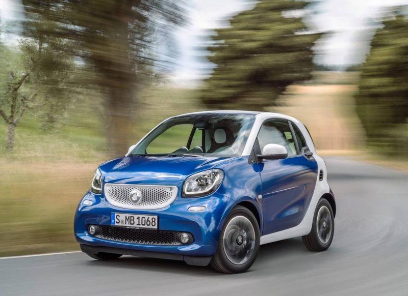 Автомобиль Smart ForTwo III