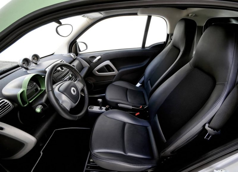 Фото салона Smart fortwo electric drive
