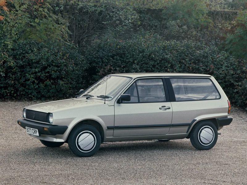 Volkswagen Polo II 3-дверный хэтчбек