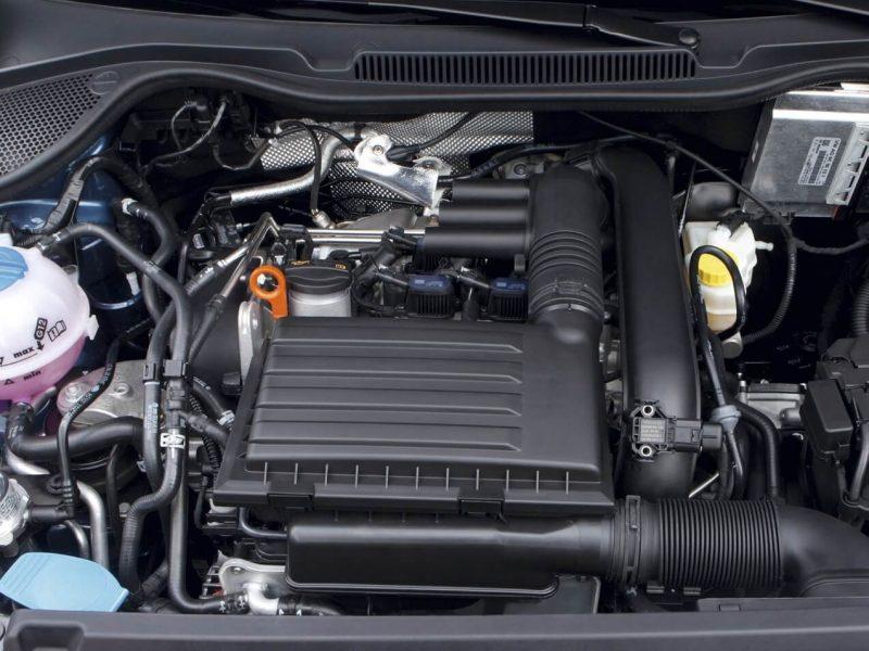 Фото двигатель Volkswagen Polo V