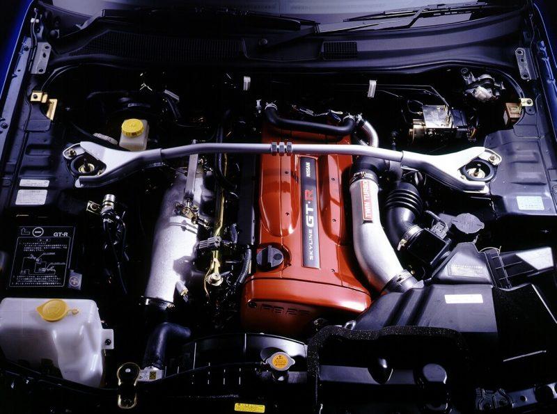 Nissan Skyline GT-R двигатель