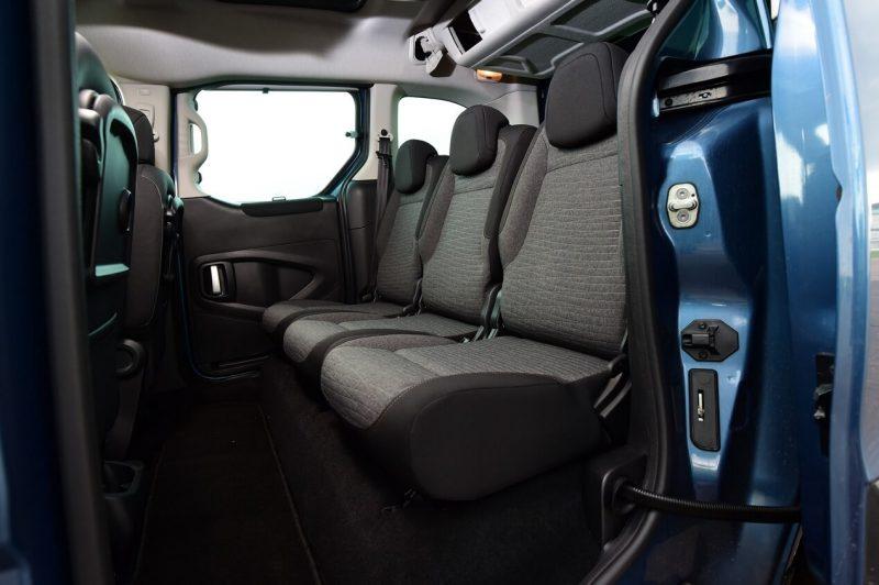Интерьер Citroën Berlingo Multispace XTR