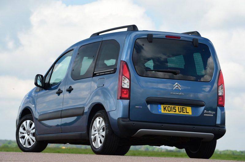 Citroën Berlingo Multispace XTR вид сзади
