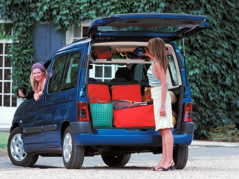 Багажник Citroen Berlingo первого поколения