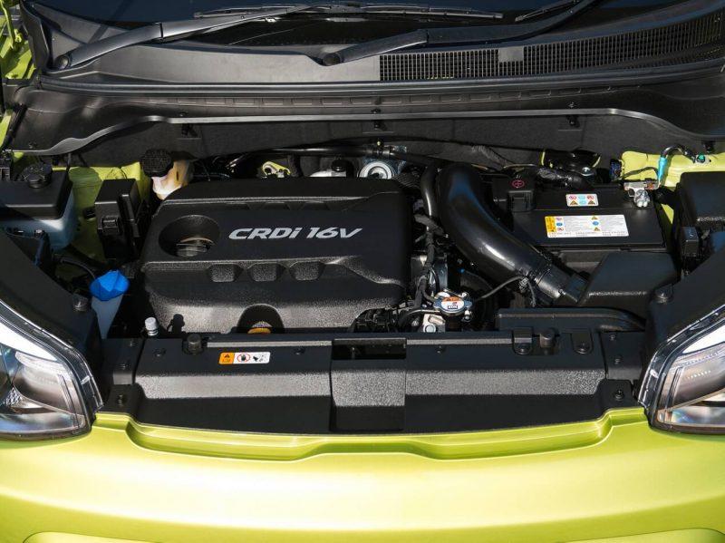 Киа Соул двигатель