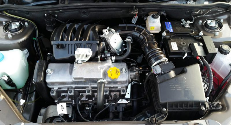 Lada Granta двигатель