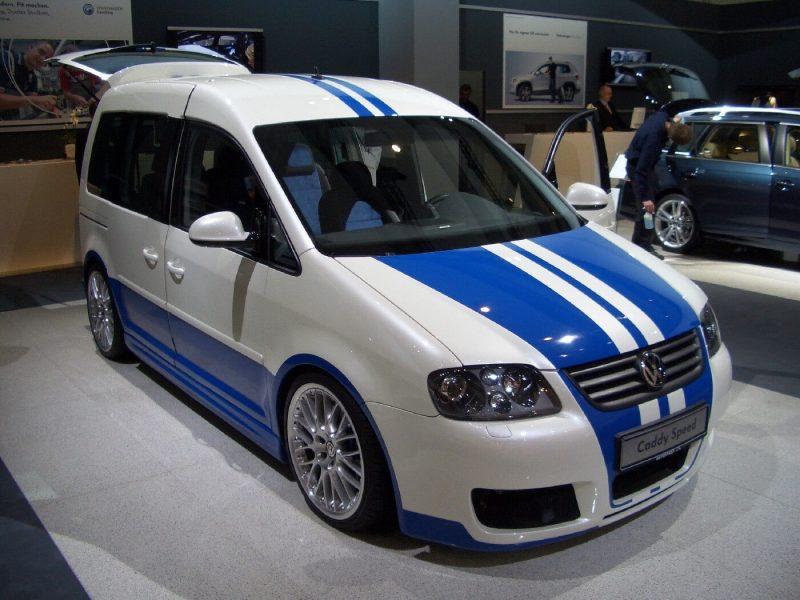 Volkswagen Caddy тюнинг