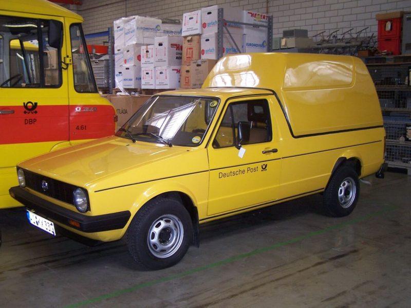 Фото фургона Volkswagen Caddy