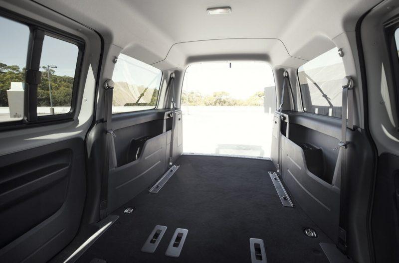 VW Caddy IV салон