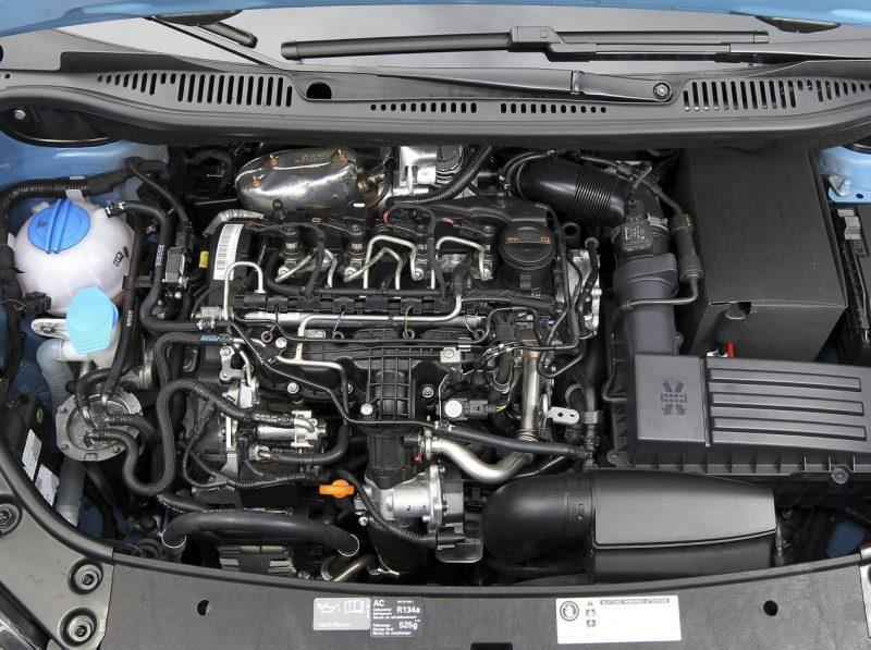Volkswagen Caddy III двигатель