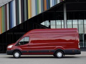 Вид сбоку Форд Транзит Jumbo Van L4H3