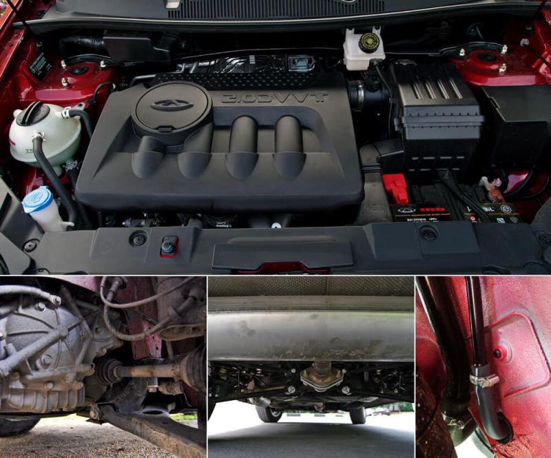 Двигатель Chery Tiggo 5