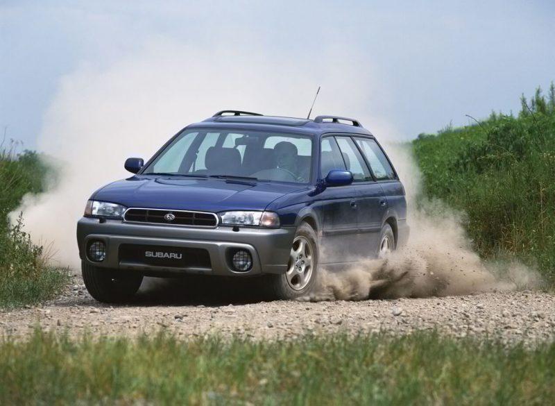 Вид спереди Subaru Legacy Outback