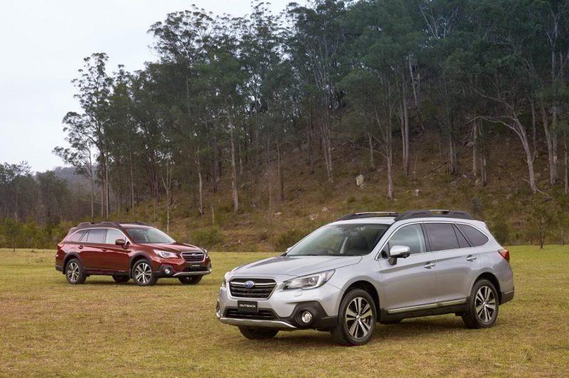 Фото универсала Subaru Outback