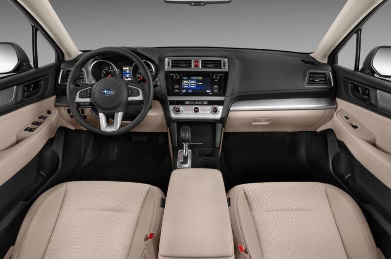 Салон Subaru Outback V