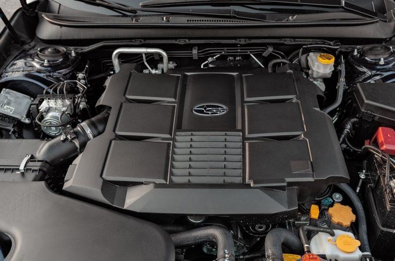 Двигатель нового Subaru Outback
